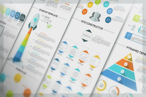 Minimal Infographic Pack