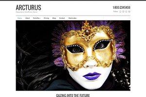 Arcturus - Responsive Theme