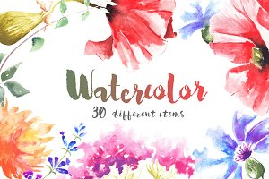 Watercolour Mockups