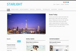 StarLight - Responsive Theme