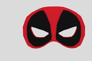 Deadpool Prom Mask