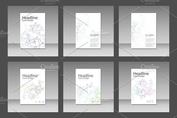 Set network connect brochure Vol.2 in Brochure Templates