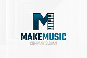 Make Music Logo Template