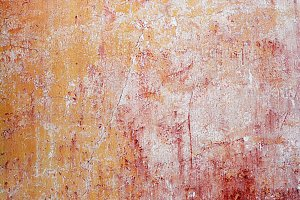 0018  Wall texture red/yellow