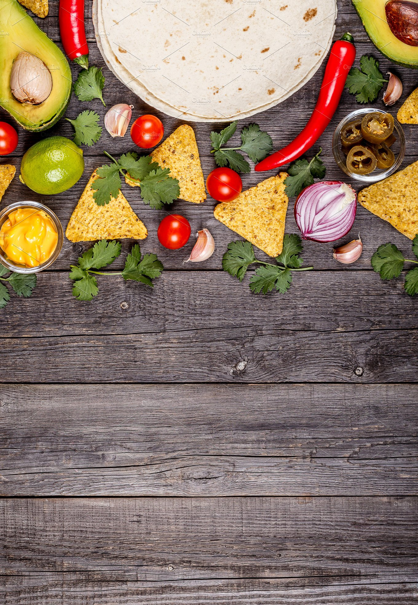 mexican food background ~ Food & Drink Photos ~ Creative ...