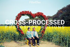 Cross-Processed Photoshop Actions