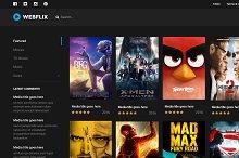 Webflix - Streaming Media Theme