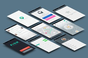 Fiax (Transportation App UI)