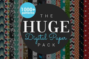 The Huge Digital Paper Pack