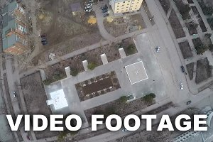 Aerial view of Great Patriotic