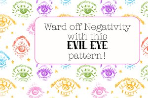 Evil Eye Pattern Set
