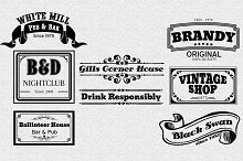 Vintage Logotype Labels Vol.2