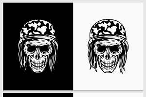 Bill Skull Vector