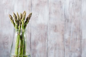 Asparagus in a bottle
