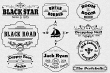 Vintage Logotype Labels Vol.3