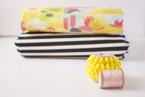 Bright & Colourful Sewing Photo