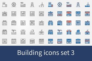 Building icons set 3