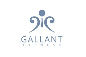 Gallant Fitness logo Template