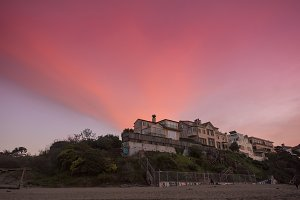 Baker Beach Sunset San Francisco, CA