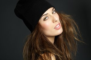 Girl In Beanie