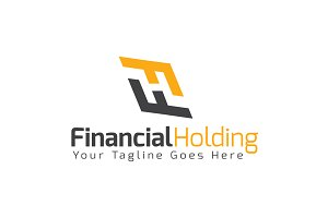 Financial Holding logo Template