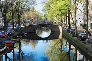 Bridge of Amsterdam, Netherlands