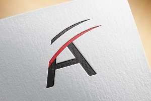 Creative A logo Template
