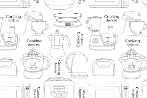 Cooking devices pattern