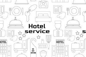 Hotel service pattern