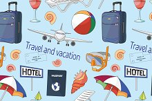 Travel and vacation pattern