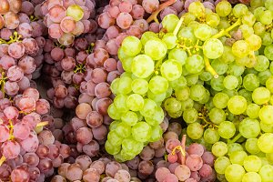 Grapes at the market