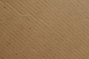 Brown cardboard background