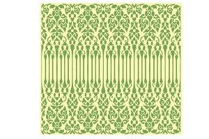 Seamless vine pattern