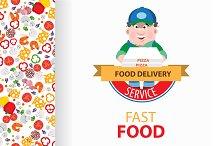 Fast food. Pizza.