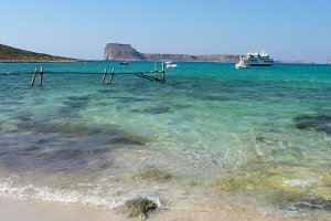 Nice Beach Balos, Crete
