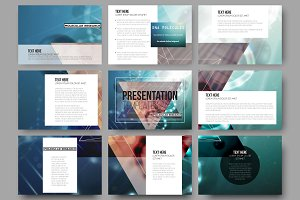 Bundle of 180presentation templates