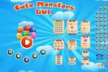 Cute Monsters GUI