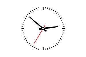 Clock dial set