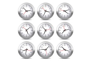 Wall Clock Set