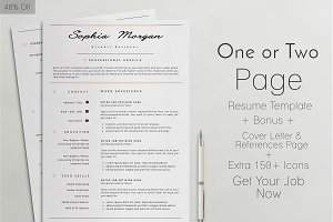 Professinal Resume / CV Template - 7