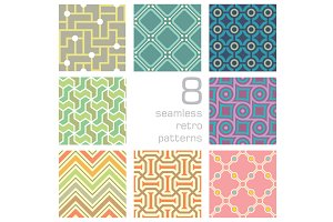 seamlessly retro pattern collection