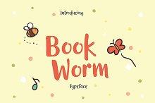 Book Worm Typeface