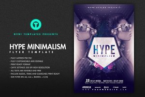 HYPE MINIMALISM Flyer Template