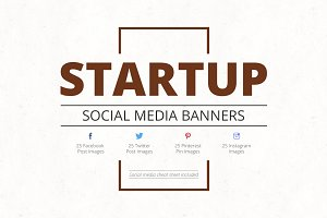 Startup Social Media Banners
