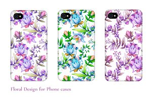 Floral Patterns for Phone Cases