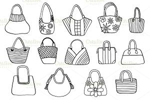 Collection design handbags