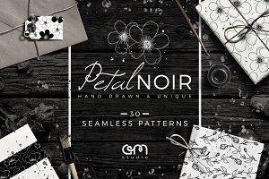 Petal Noir - Pattern Pack