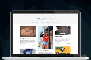 Hadron - Responsive Grid Blog Theme