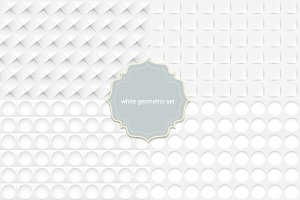 4 seamless white pattern