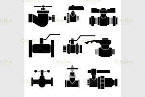 Set of faucet